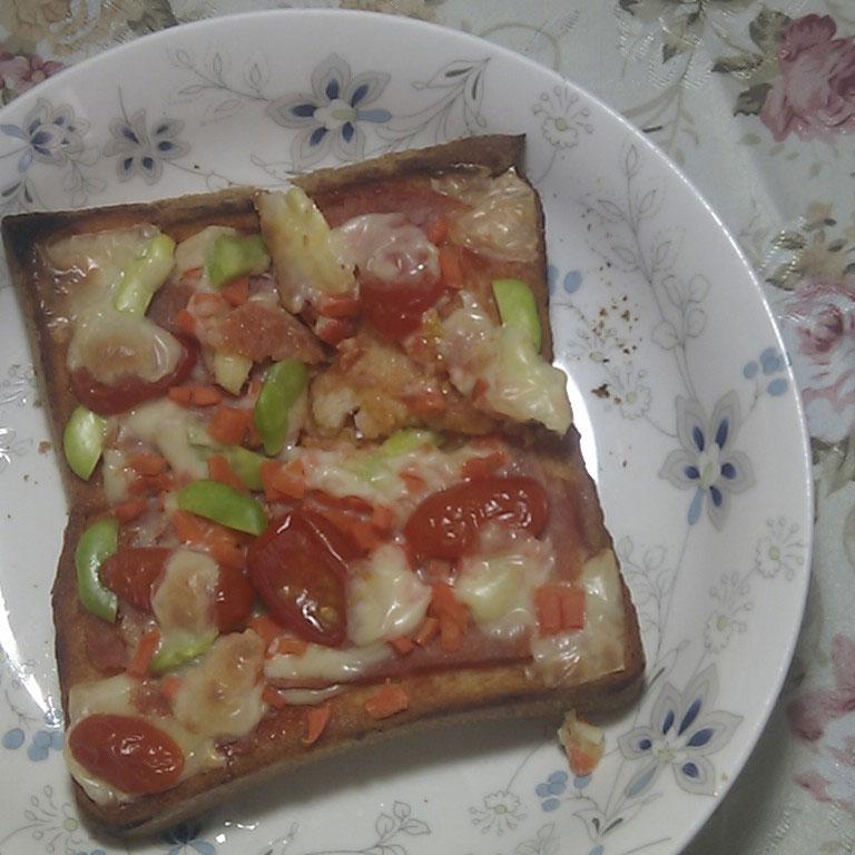 自制吐司披萨