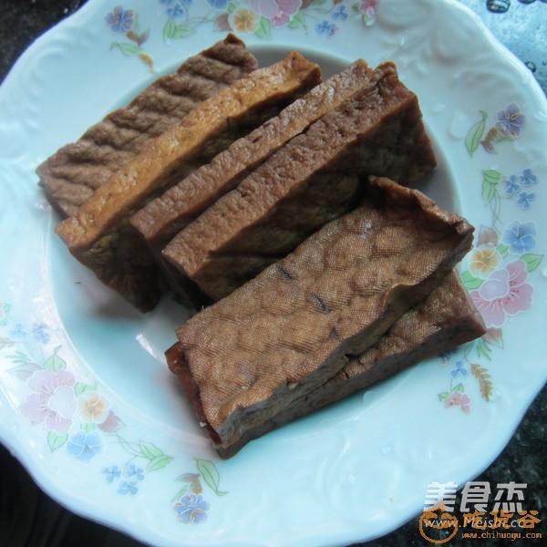 凉拌卤豆腐干