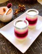 火龙果酸奶布丁的家常做法
