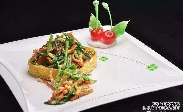 粤菜馆里的精致粤菜欣赏